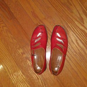 CYDWOQ Burnt Orange Shoe - Size 40